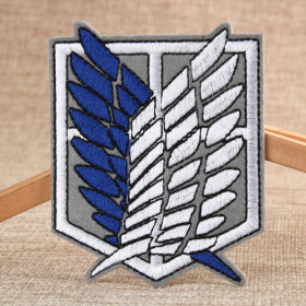 The Wings Of Freedom Custom Patches