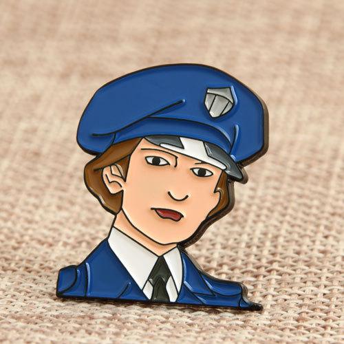 Custom Policman Enamel Pins