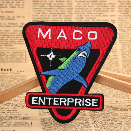 MACO Custom Embroidered Patches