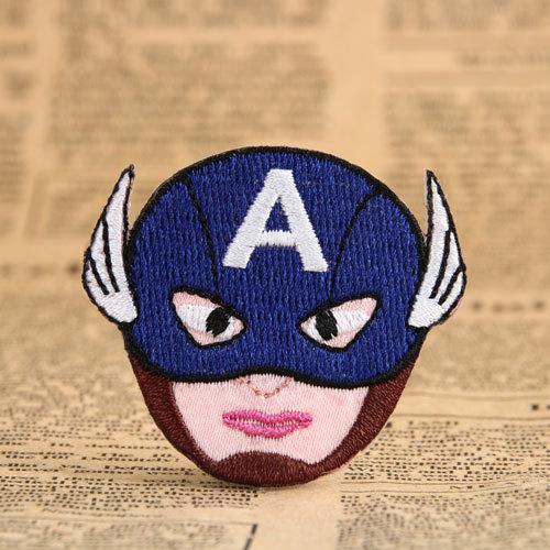 Captain America Make Custom Patches