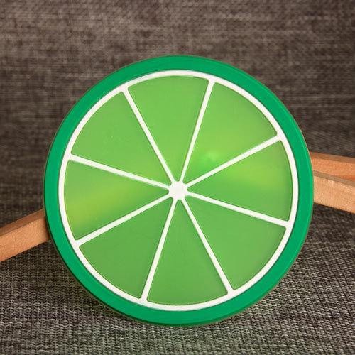 Lime PVC Coaster