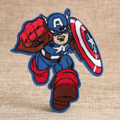 Captain Custom Patches For Clothes