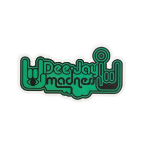 Deejay Madness Custom Stickers