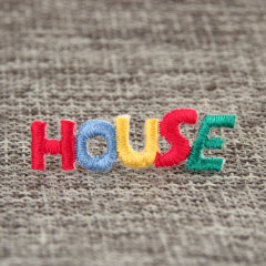 House Custom Embroidered Patches