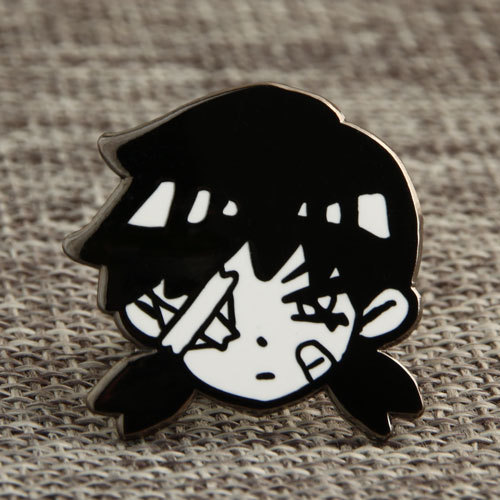 One-eyed girl Custom Pins