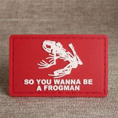 Frogman PVC Patches