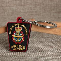 Military Police PVC Keychain