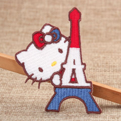 Hello Kitty Embroidered Patches