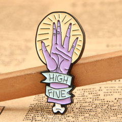 Custom High Five Pin
