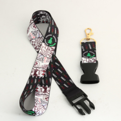 Cute Dye-sublimated Lanyards