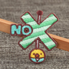No Custom Sew On Patches