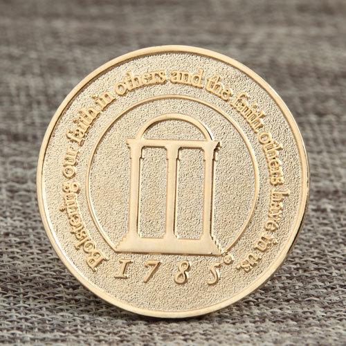 Bible Verses Custom Challenge Coins