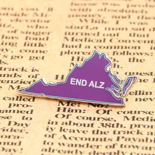 End Alz Custom Lapel Pins
