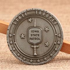 Iowa State Patrol Custom Challenge Coins