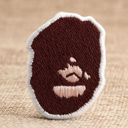 Orangutan Custom Embroidered Patches No Minimum