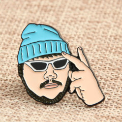 Rapper Enamel Lapel Pins