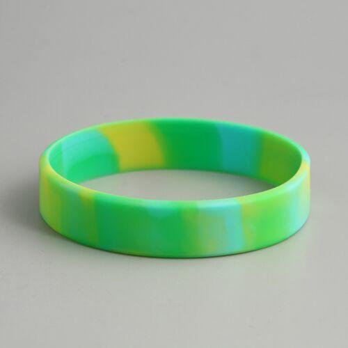 Swirled Blank Wristbands Cheap