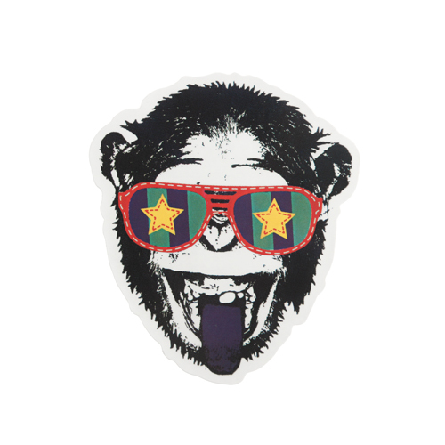 Fashionable Chimp Custom Stickers
