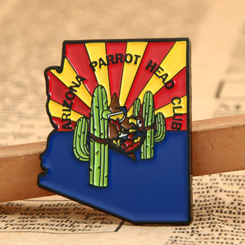 Custom Parrot Club Pins