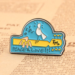 Custom Peace Love Pins