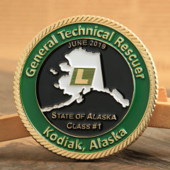 General Technical Rescuer Challenge Coins