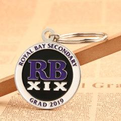 RB XIX Personalized Metal Keychains