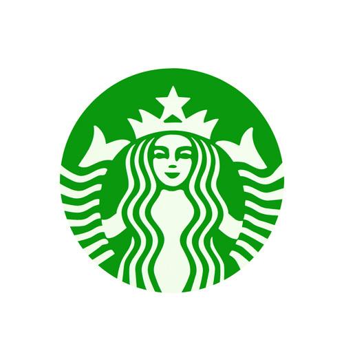 Starbucks Logo Custom Stickers