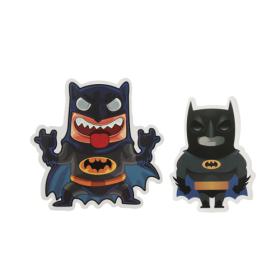 Two Batman Custom Stickers