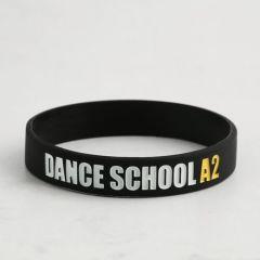 Dance School A2 Wristbands no Min.