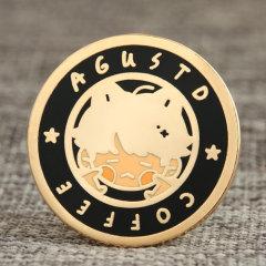 Coffee Agustd Soft enamel pins