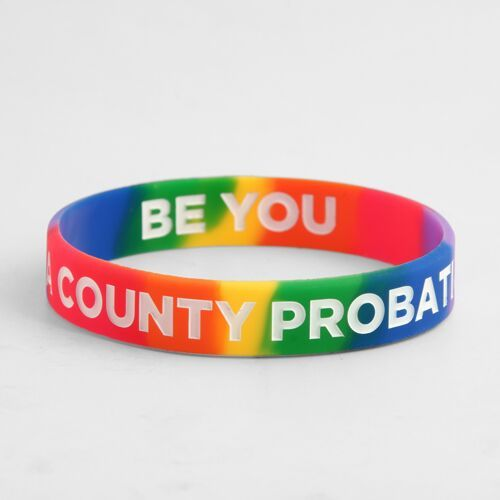 LA COUNTY PROBATION Wristbands