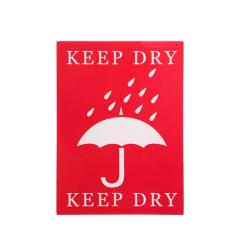 Keep Dry Custom Stickers