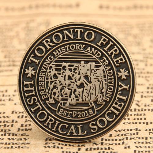 Preserving History Custom Made Pins