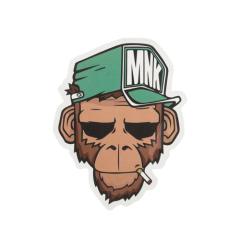 MNK Monkey Custom Stickers