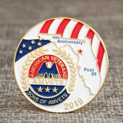 American Veterans Custom Lapel Pins