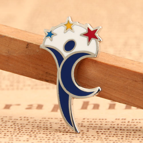 The Stars and the Moon Lapel Pins