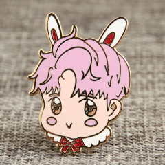 Bunny Boy Custom Enamel Pins