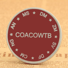 COACOWTB Custom Challenge Coins