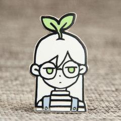 Custom Cute Girl Pins