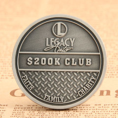 Legacy Auto Corporate Challenge Coins