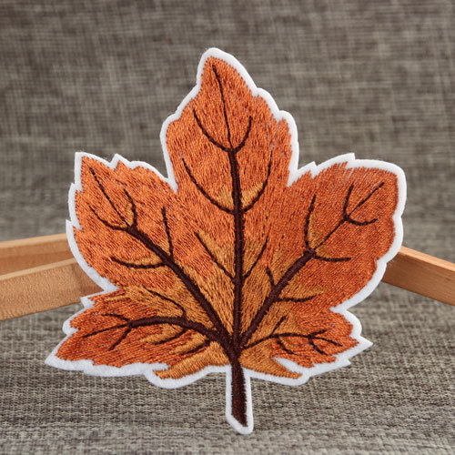 The Maple Leaf Embroidered Patches