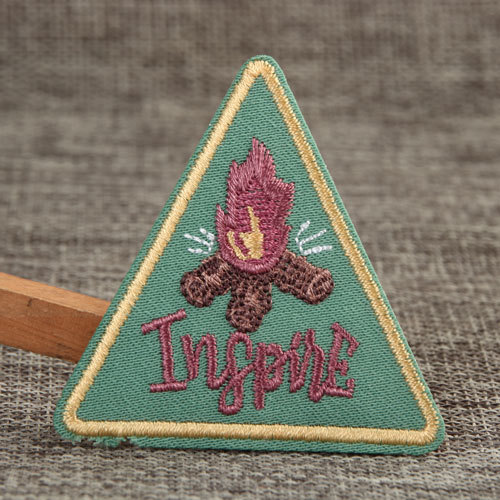 Torch Custom Embroidered Patches