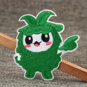 Chinese Cabbage Embroidered Patches