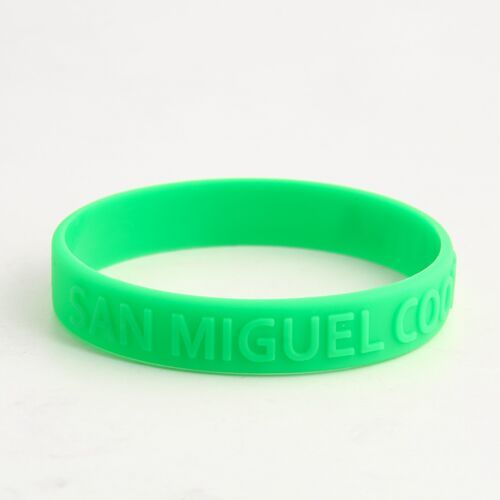 San Miguel Cooperativa Wristbands