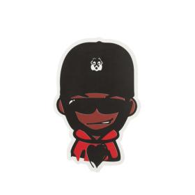 Black Monkey Custom Stickers