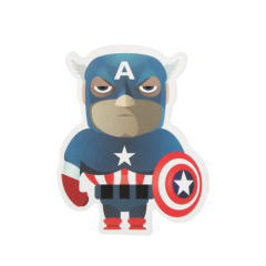 Cartoon Captain America Custom Stickers