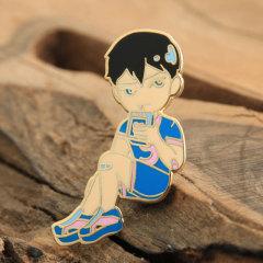 Custom Youth Boy Enamel Pins