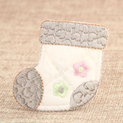 Baby Shoes Custom Embroidered Patches