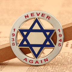 Never Again Enamel Pins