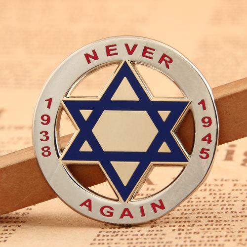 Never Again Enamel Pins